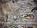 Basilica di aquilieia, mosaici, fishing and Jonah's stories carpet 04.JPG