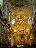 Basilique-Cathédrale Notre-Dame-de-Québec - interior