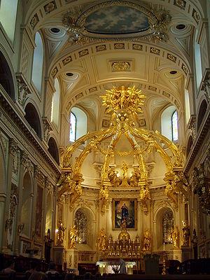 Cathedral-Basilica of Notre-Dame de Québec - Image: Basilique Cathédrale Notre Dame de Québec interior