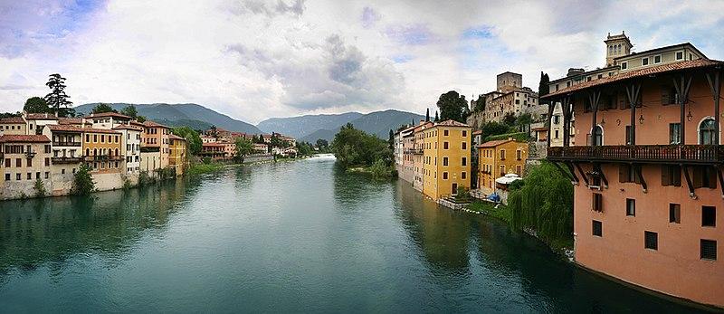 Le citta 39 fluviali italiane e il rapporto tra citt e for Arredamenti bassano del grappa