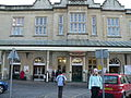 Bath Spa railway station - forecourt 05.jpg