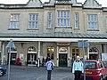 Bath Spa railway station - forecourt 05.jpg