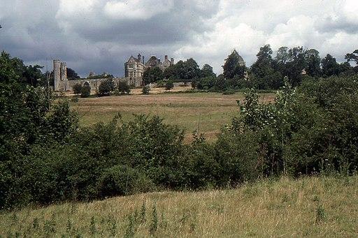 Battle Abbey, across the battlefield