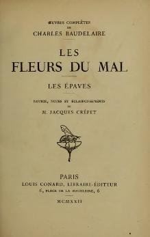 [PDF] Les Fleurs du Mal Book by Charles Baudelaire Free ...