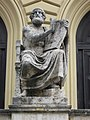 Bayerische Staatsbibliothek Statue des Homer Muenchen-2.jpg