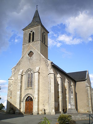 Béduer - The church in Béduer