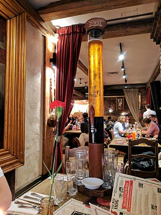 Beer tower - A beer tower in Warsaw, Poland