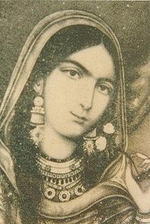 Begum Hazrat Mahal Begum of Nawab of Awadh