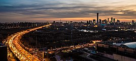 Beijing skyline from northeast 4th ring road.jpg