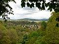 Beim 366 km langen Neckartalradweg, Blick in das Neckartal bei Rottweil - panoramio.jpg