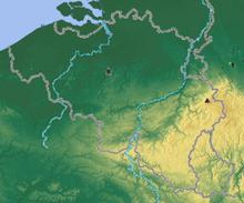 Belgium Topographic Map.Outline Of Belgium Wikipedia