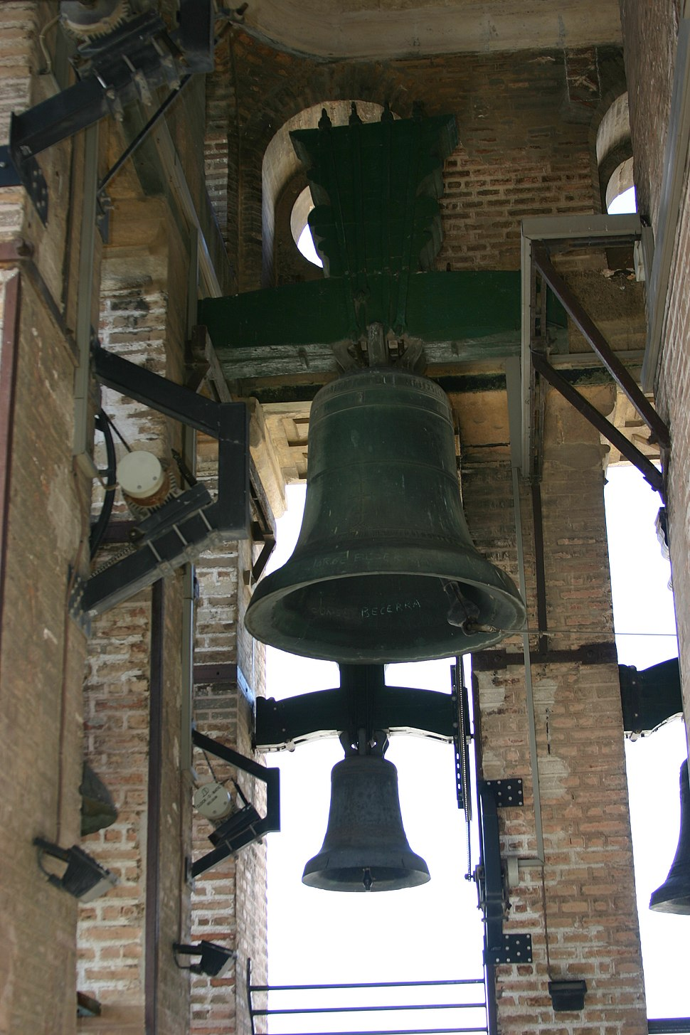 Bell in the Giralda - Cathedral of Seville