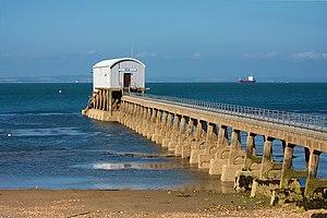 Bembridge Lifeboat Station - Image: Bembridge Lifeboat Station, Isle of Wight, UK 15July 2008