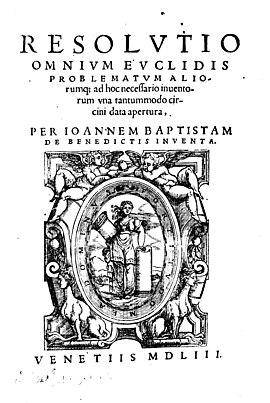 Giovanni Battista Benedetti