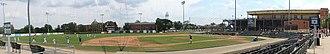 Village of Lisle-Benedictine University Sports Complex - Image: Benedictine University baseball stadium