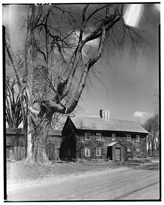 Andover, Massachusetts - Benjamin Abbott farmhouse, Andover, 1934