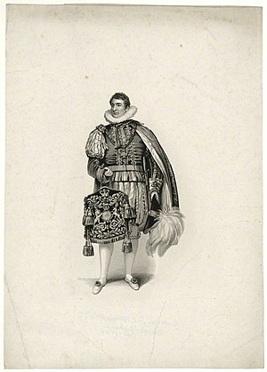 Keeper of the Privy Purse - Lord Bloomfield as Keeper, carrying the Privy Purse at the Coronation of George IV.