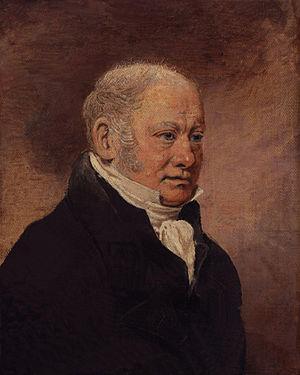 Benjamin Marshall - Portrait of Benjamin Marshall by his son Lambert Marshall, c. 1825