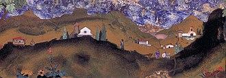 Bernardino Poccetti - Image: Bernardino Poccetti Tuscan Landscape WGA17988
