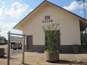 Bernice, Louisiana - Bernice Rock Island Railroad Depot Museum