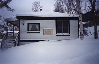Writers' Trust of Canada - Berton House in the winter