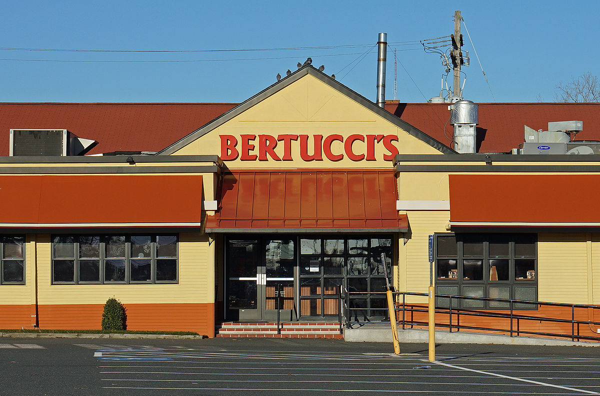 Bertucci's is an American chain of restaurants offering pizza and Italian food. It also offers delivery (from some stores), take-out and private dining. Bertucci's was founded by Joey Crugnale in Davis Square, Somerville, Massachusetts, in The company expanded rapidly during the s.