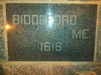 Bidd-Provtown Marker