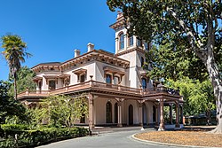 Bidwell Mansion, Chico, September 2019.jpg