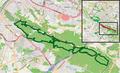 Bielefeld - NSG Östlicher Teutoburger Wald (LP BI-Senne) - Map.png