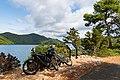 Bike tour around lake Veliko Jezero on Mljet, Croatia (48739058797).jpg