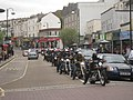 Bikers on Queen's Road - geograph.org.uk - 1904123.jpg