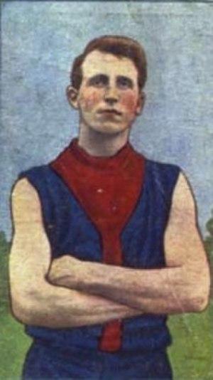 Bill Allen (footballer) - Allen in 1920