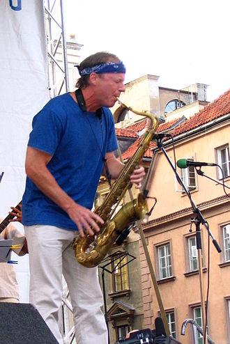 Bill Evans (saxophonist) - Evans in Warsaw, Poland, July 24, 2004