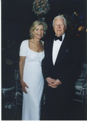 William O. Harbach - Harbach and wife Barbara, Winter 1998 photograph by Lucian Capehart