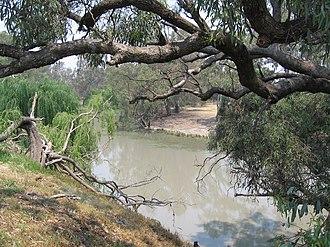 Billabong Creek - Image: Billabong Creek Wanganella