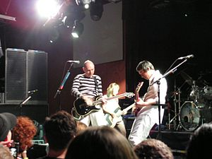 The Smashing Pumpkins - Corgan and Jeff Schroeder onstage