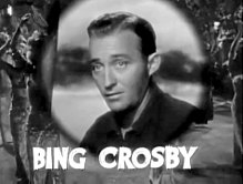Bing Crosby en 1940 en a cinta Road to Singapore.
