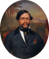 Bishop Museum - Kahili Room - King Kamehameha III, unknown artist cropped.png