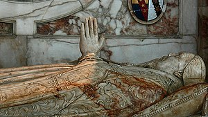 Martin Heton - Alabaster effigy of Martin Heton in Ely Cathedral.