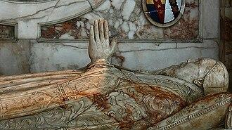 Martin Heton - Alabaster effigy of Martin Heton in Ely Cathedral.