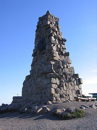 Seebuck - Bismarck monument on the Seebuck