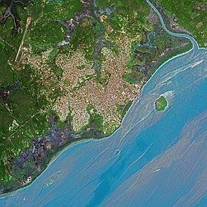 Bissau: Bissau SPOT 1051