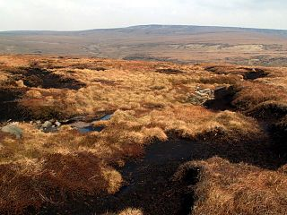 Black Chew Head mountain in United Kingdom