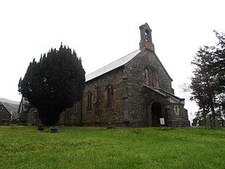 Blaenau Ffestiniog Town in Gwynedd, North Wales