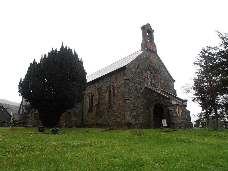 Blaenau Ffestiniog, Gwynedd. St David's Church.