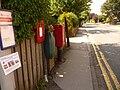 Blandford Forum, postbox № DT11 126, Milldown Road - geograph.org.uk - 1374933.jpg