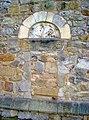 Blocked up West Door, St John the Baptist's Church, Ault Hucknall - geograph.org.uk - 1592525.jpg