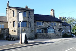 Listed buildings in Horwich - Image: Blundell Arms near Horwich