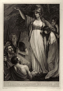 Boudica Queen of the British Iceni tribe