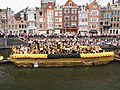 Boat 40 HVO-Querido, opvang, woonbegeleiding, dagactiviteiten, Canal Parade Amsterdam 2017 foto 4.JPG